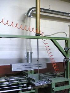 Okap wyciągowy w obszarze roboczym