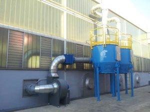 Filtr z węglem aktywnym ATEX do malowania na sucho