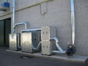 Model z pokładem poziomym z filtrem węglowym