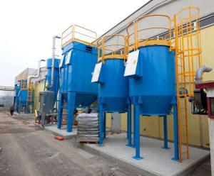 Przemysłowe filtry węglowe ATEX do zastosowań chemicznych