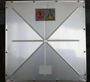 Filtr workowy ATEX: panel wentylacyjny (detal)