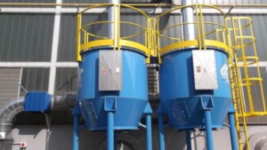 Filtr z węglem aktywnym ATEX do redukcji rozpuszczalników