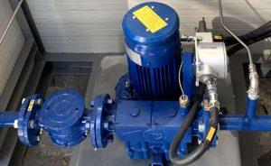 Zastosowanie 2: dmuchawa do regulacji ciśnienia gazu