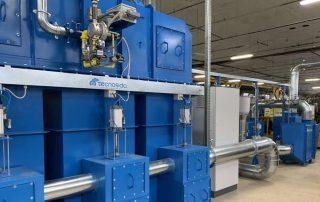 Zastosowanie 1: Regeneracyjny utleniacz termiczny i system filtracji wstępnej
