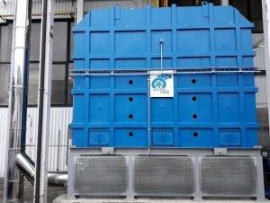 Utleniacz termiczny z systemem zabezpieczającym