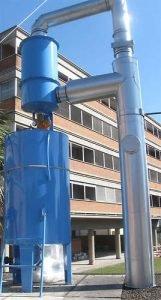 Mokry system do emisji spalin