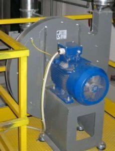 Zastosowanie 3: wentylator odśrodkowy