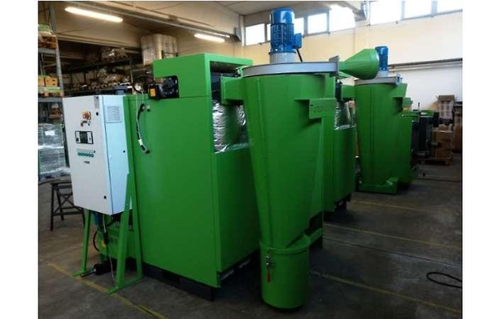 Turbovortex separator styczny do kotła na biomasę