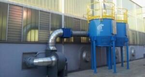 Zastosowanie 2: filtr z węglem aktywnym ATEX