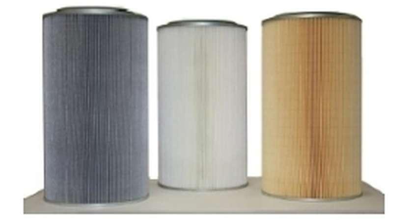 Wkłady do filtrowania pyłów