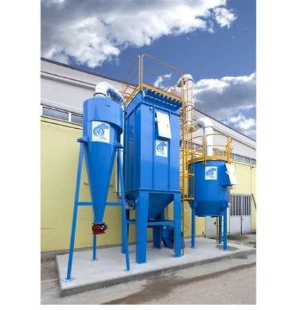 wielostopniowy system filtracji powietrza