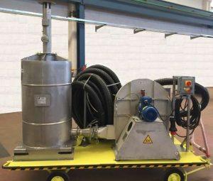 Wózkowy filtr ATEX z węglem aktywnym
