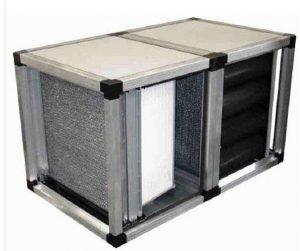 Jednostka filtrująca tkaninowo - węglowa