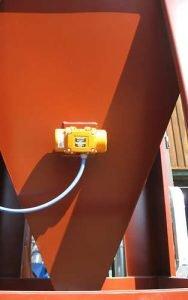 Zastosowanie 1: wibrator do rozpraszania pyłu