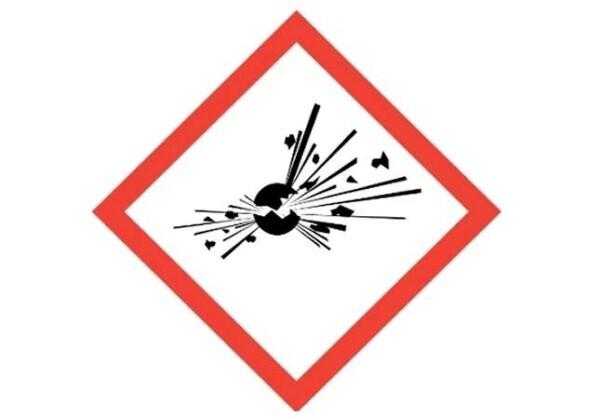 Symbol zagrożenia wybuchem