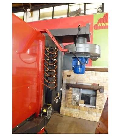 Turbovortex dla kotła na biomasę