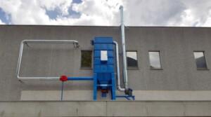 Filtr workowy ATEX do redukcji pyłu węglowego